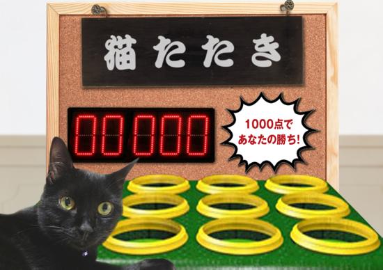 猫たたき2