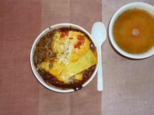 オムシチュー,トマトスープ