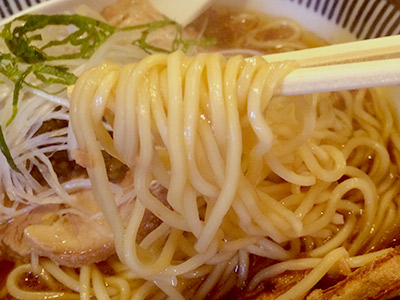 雨醤油麺141107