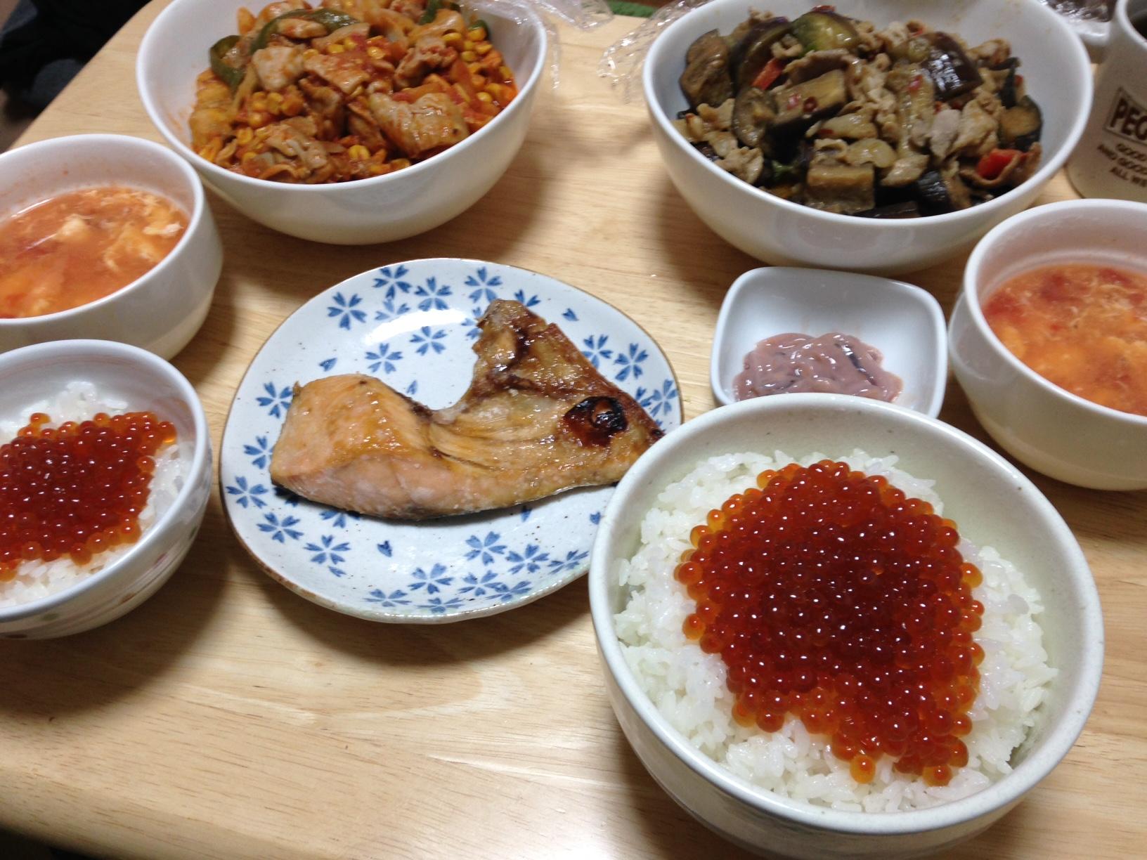 2014年秋 いくら丼 2