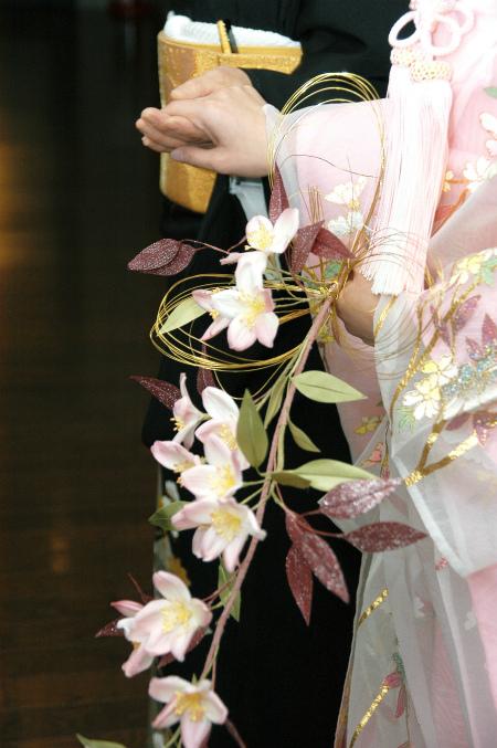 ブログ和桜ブーケ1