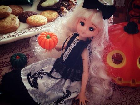 リカ姉妹 ハロウィンパーティー (9)