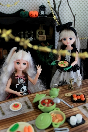リカ姉妹 ハロウィンパーティー (2)