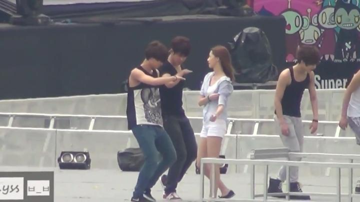 Dance Battle Rehearsal SMTOWN SG 1
