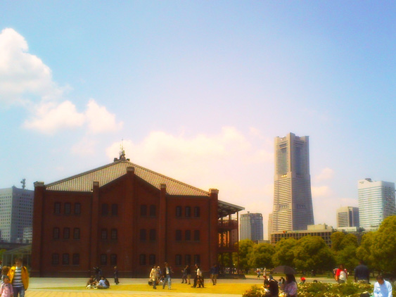 yurudeji_横浜赤レンガ倉庫