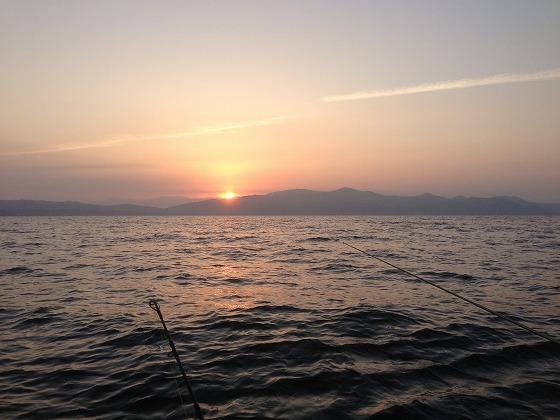 高須釣り-日の出