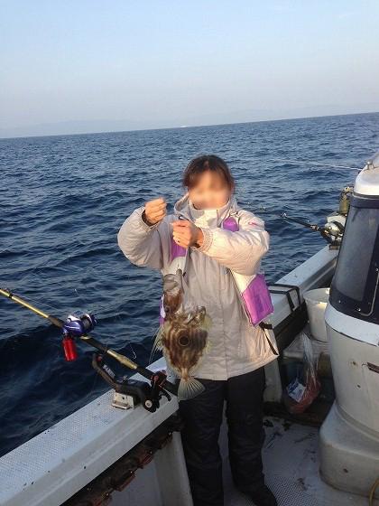 高須釣り-釣ったどー
