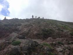 高千穂登山-06御鉢登り2