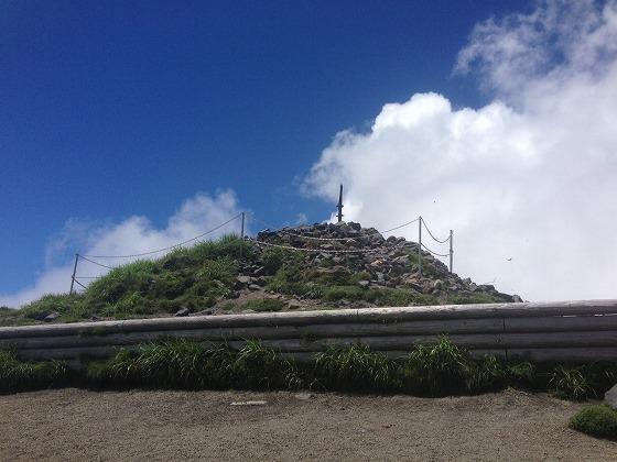 高千穂登山-17高千穂峰頂上逆鉾