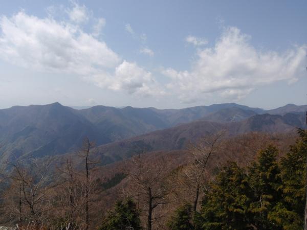 山頂から2