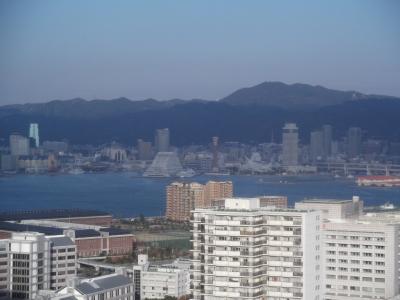 朝の神戸。