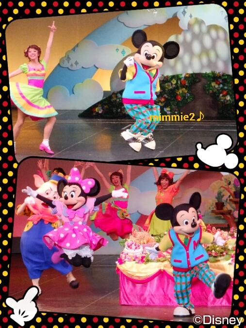 ミッキーたちのタイムオフ☆ミッキーとミニーのjumping