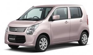 スズキ ワゴンR ピンク