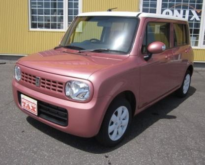 スズキ ラパン ピンク2