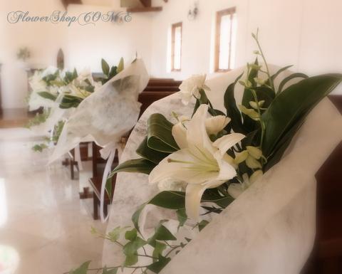 チャペル花 教会花