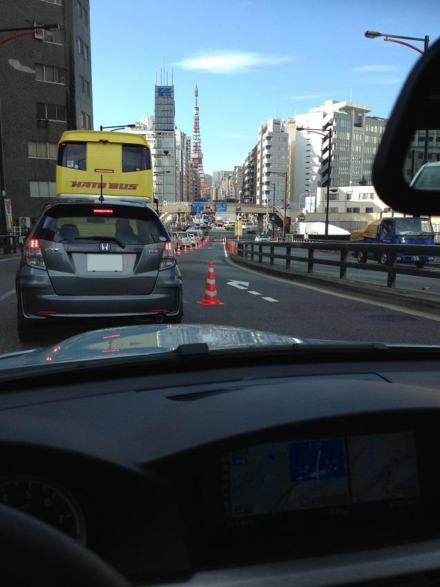 東京の車窓から