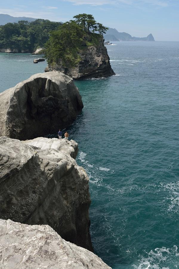 堂ヶ島・断崖