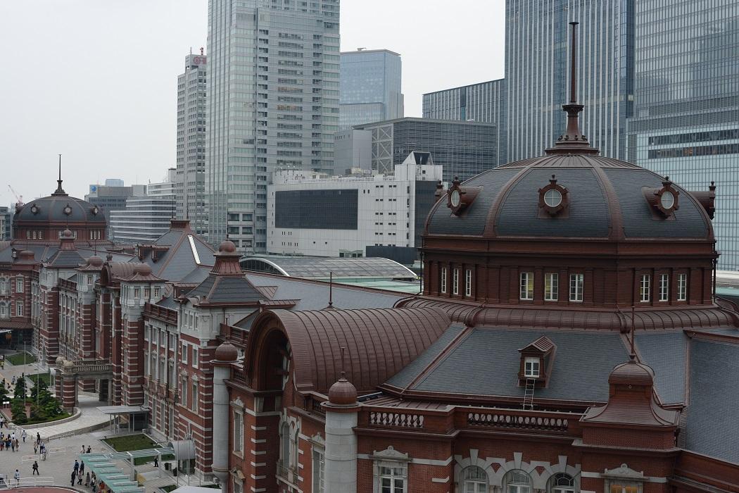 東京駅~最近はやりのアングルから