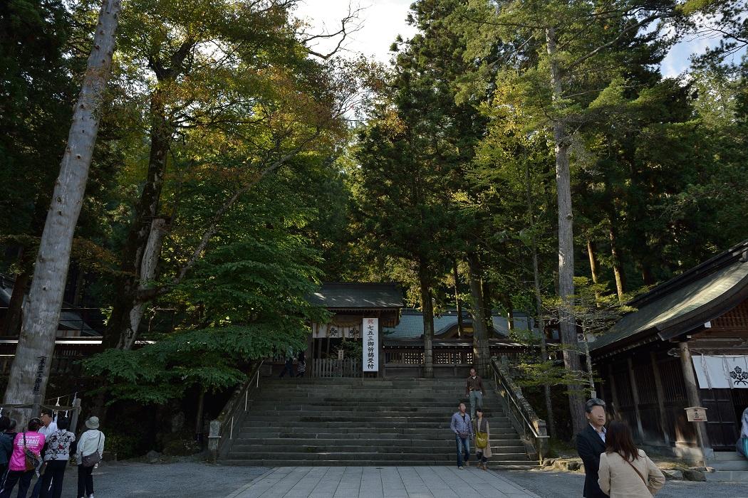 諏訪大社巡り②~上社本宮