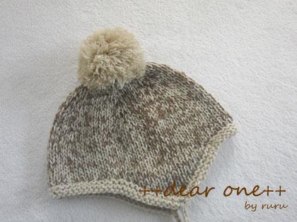 ベビーニット帽141111_2