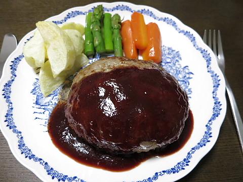 肉汁バーグ1