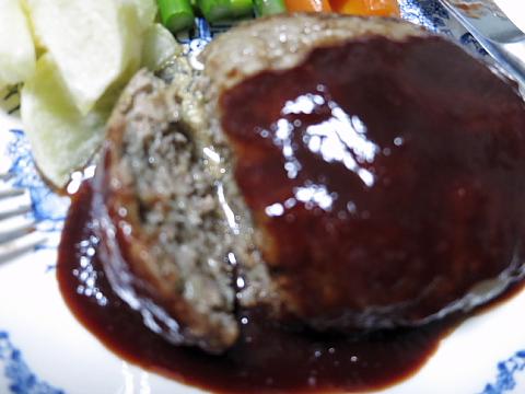 肉汁バーグ2