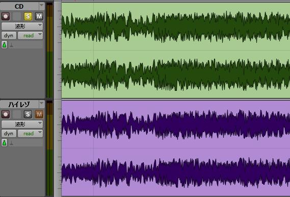 波形比較2