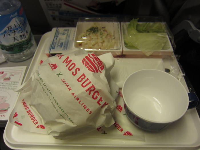 機内食 JAL