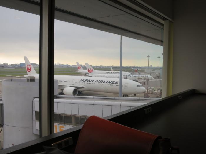 JALサクララウンジ 羽田空港北ウィング