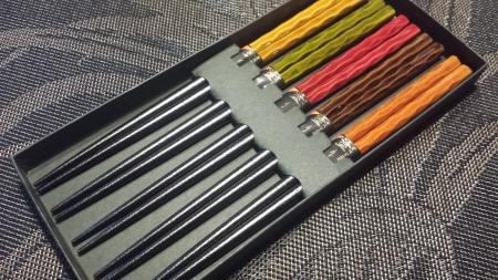 おすすめ箸「箸揃え乾漆染分 鎌倉彫」