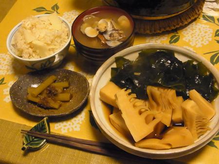 6若竹煮定食