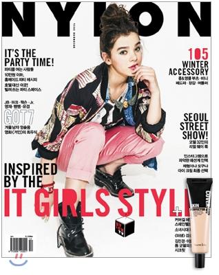 15 韓国女性誌_NYLON_2014年12月号