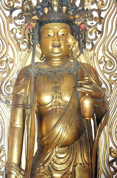 霊松寺(旧釈音寺)十一面観音立像