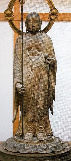 橘寺・地蔵菩薩立像