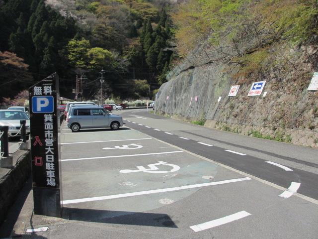 箕面滝2013春-1