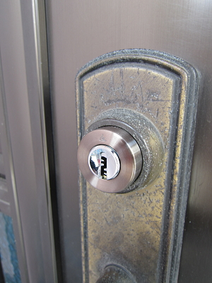 戸建鍵交換 メガクロス(2)