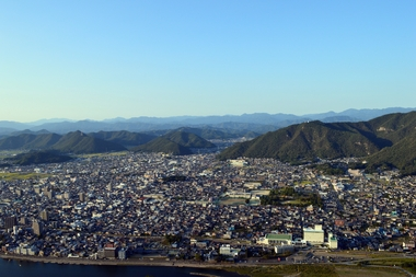 岐阜市内を見下ろす!