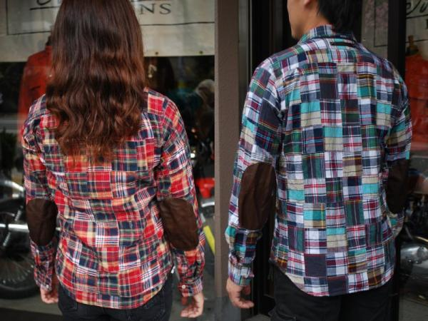 MFS-1809 パッチワークモトシャツ