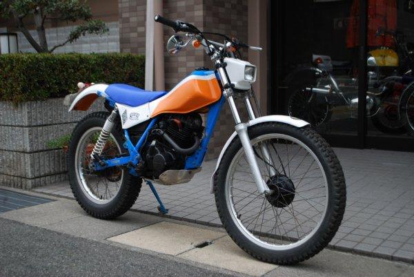 HONDA TL125 フィールドトリッパー1988