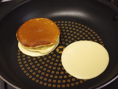 ホットケーキミックスで作るバウムクーヘン03