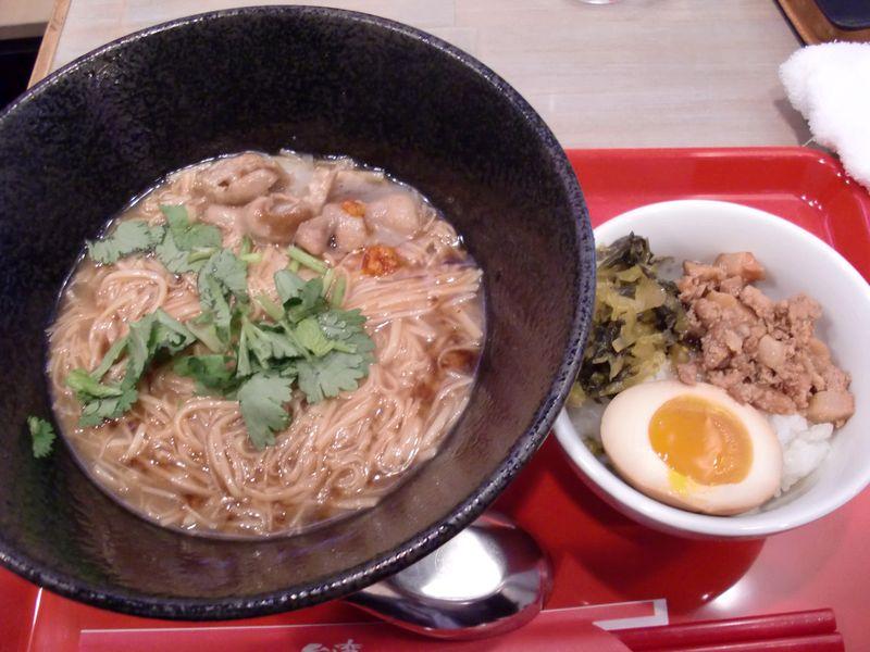 台湾麺線@御成門・20141209・夜の台湾麺線セット