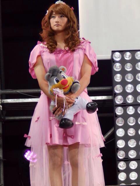 日本ハム女装3