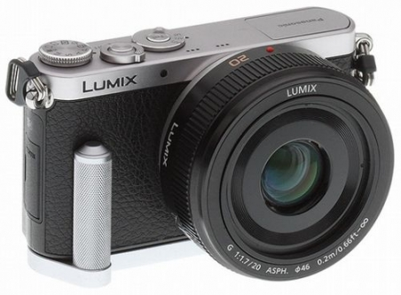 LUMIX GM1 with GRIP