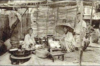 日韓併合前の朝鮮庶民の食事-1