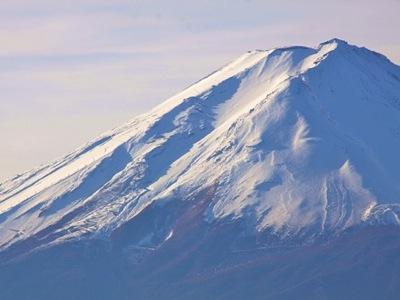 富士山冬景色