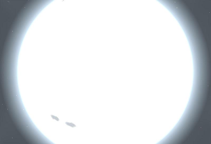 太陽の38倍と32倍の質量の2つの恒星合体で新たな巨大恒星誕生か