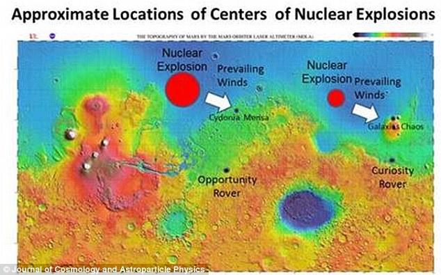 物理学者「火星の古代文明はエイリアンの核兵器で滅ぼされた!地球も危ない」米物理学会で発表へ
