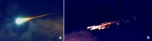 25日未明の隕石騒動は「おうし座流星群」の一部の火球か?伊豆半島上空を横切る