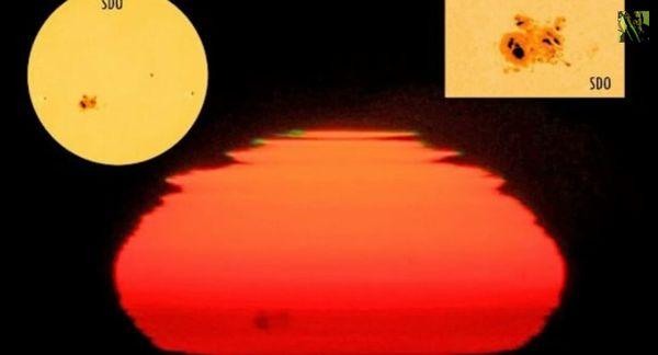 太陽に巨大な黒点群が出現…地球の方角を向いており、大規模な太陽嵐が発生する可能性