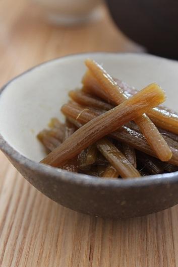 ふきの炒め煮1